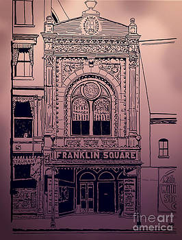 Franklin Square Theatre by Megan Dirsa-DuBois