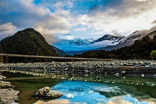 Franz Josef Glacier by Dean Chytraus
