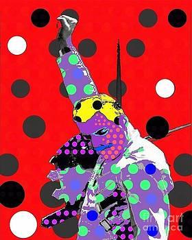 Freddie Mercury by Ricky Sencion