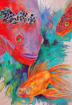 Freddy Fish and Friends by Karen bertha Calderon
