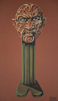 Freddy Krueger  by Brent Andrew Doty