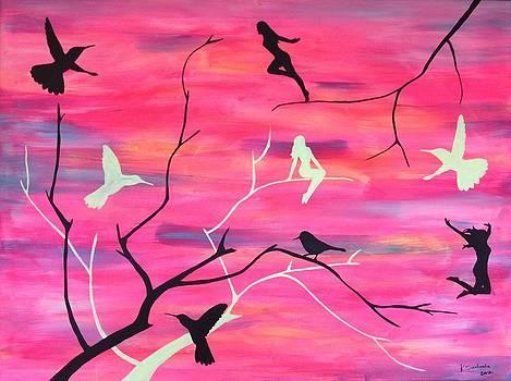 Free like a bird by Kristine Sedmale
