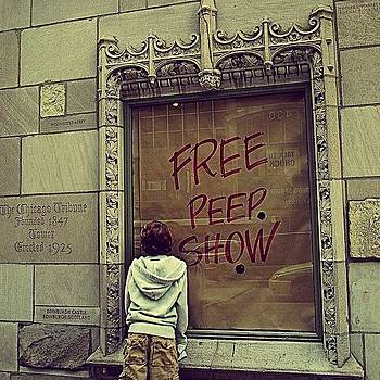 Free Peep Show! by Gia Marie Houck