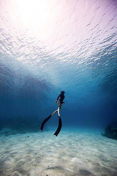 Freediver by One ocean One breath