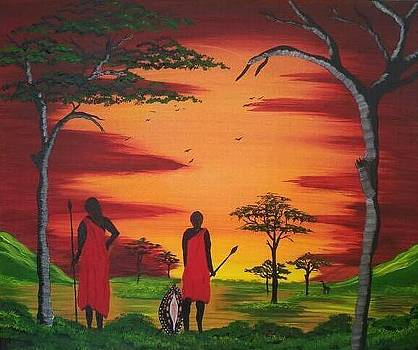 Freedom Of Masai by Paula Marley