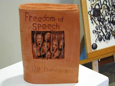 Freedom of speech by Dariush Rose