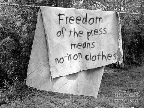 Freedom of the Press by Karen Derrico