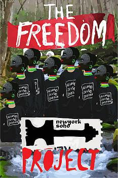 Freedom poster by Tolga Ozcelik