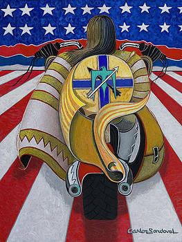 Freedom Rider by Carlos Sandoval