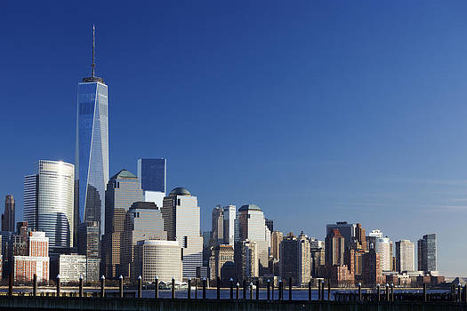 Freedom Tower and Lower Manhattan by Alex Llobet