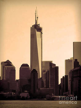 Anne Ferguson - Freedom Tower from the Staten Island Ferry