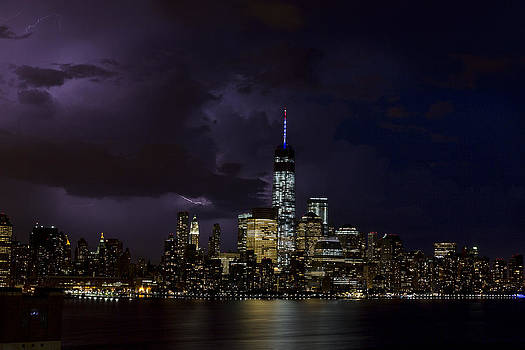 Freedom Tower Storm by D Plinth