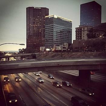 #freeways #losangeles #dusk by Ann Marie Donahue