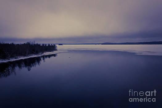 Freezing Ontario Lake by Mathew Tonkin Henwood
