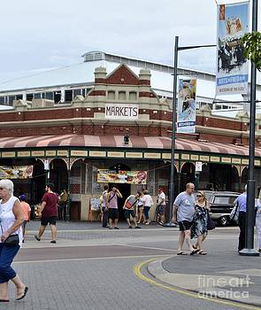 Fremantle market place by Bobby Mandal