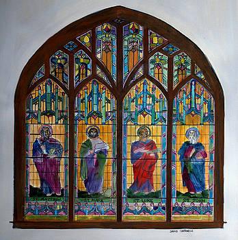 French Broad Baptist Church by David Cardwell