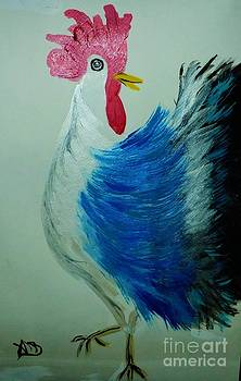 French Country Rooster by Marie Bulger