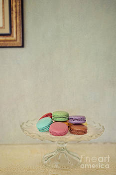 French Macaroons on Mantel by Susan Gary