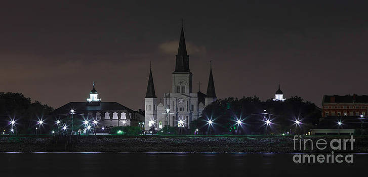 French Quarter after Sunset by Susie Hoffpauir