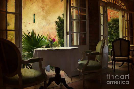 Kathleen K Parker - French Quarter Dining at Cafe Amelie