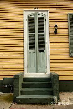 French Quarter Door - 17 by Susie Hoffpauir