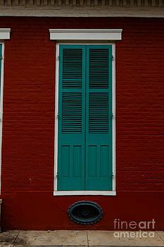 French Quarter Door - 21 by Susie Hoffpauir
