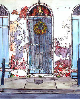 French Quarter Door by John Boles
