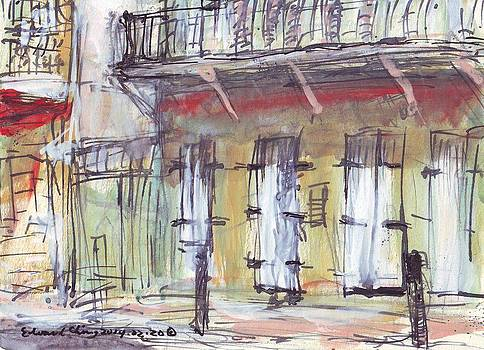 French Quarter  by Edward Ching