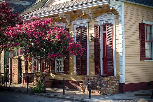 French Quarter House by Peter Verdnik