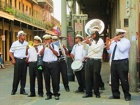 French Quarter Jazz Band by Debora PeaceSwirl DAngelo