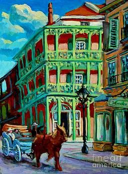 halifax artist John Malone - French Quarter New Orleans
