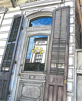 French Quarter Reflection by John Boles