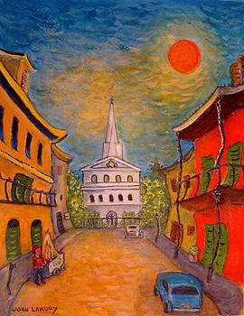French Quarter Scene by Joan Landry