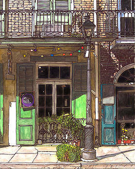 French Quarter Shop 369 by John Boles