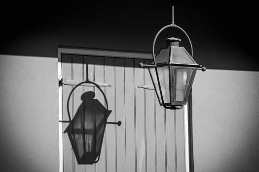 French Quarter Street Lamp by Peter Verdnik