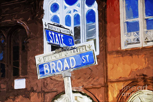 French Quarter Street Sign by Ules Barnwell