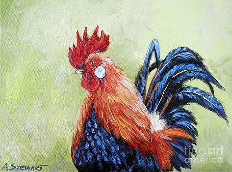 French Rooster by Amanda Hukill
