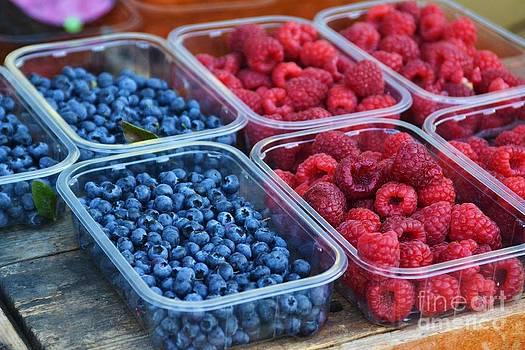 Fresh Berries by Stephanie Guinn