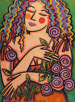 Fresh Cut Flowers by Ilene Richard