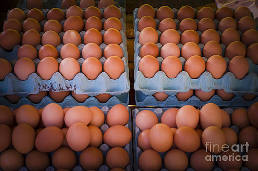 Fresh Eggs On A Street Fair In Brazil by Ricardo Lisboa