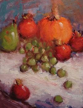 Fresh fall fruit by R W Goetting