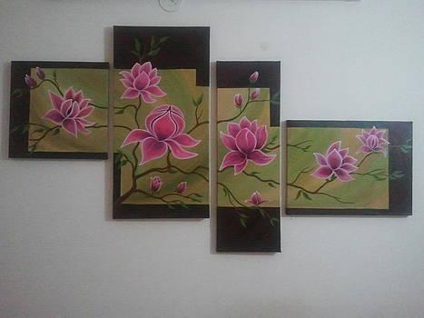 Fresh Flowers  by Dvipa Thakkar
