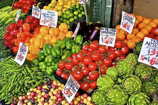 Fresh Produce by Mark Lemon