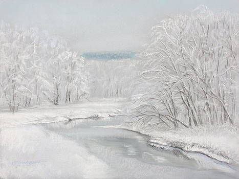 Fresh Snow at Catfish Corner by Sherri Anderson