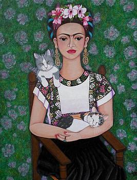 Madalena Lobao-Tello - Frida cat lover
