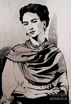 Frida Kahol by Bonnie Cushman
