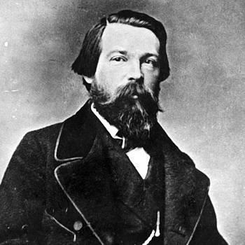 Friedrich Engels by Gabriel  Palcic
