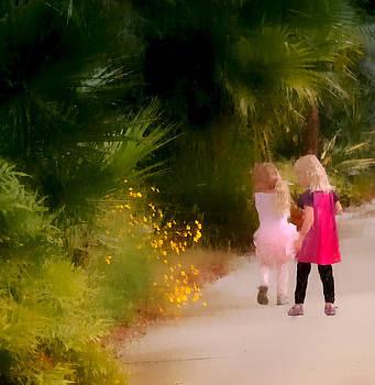 Friends and Flowers by Carol Kinkead