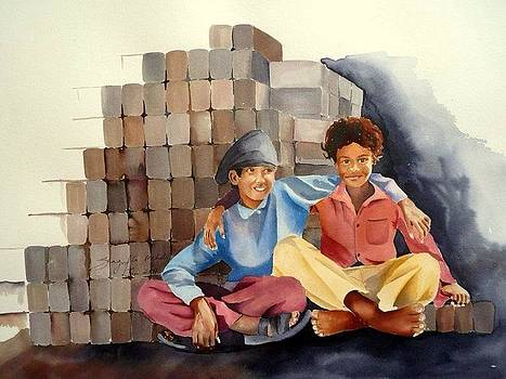 Friends Forever by Shagufta Mehdi