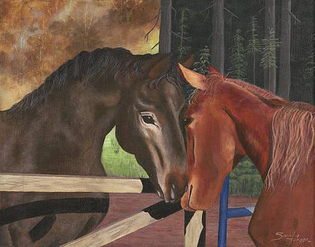 Friends by Sandy Jasper